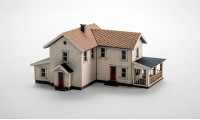 Archistories 406191 Turn of The Century House White