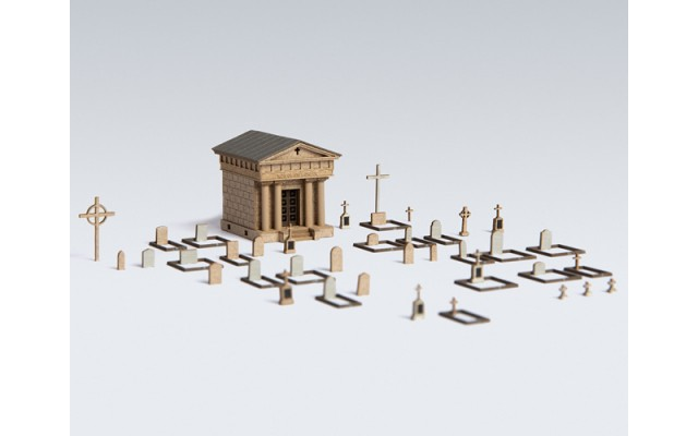 Archistories 408181 Graveyard Set