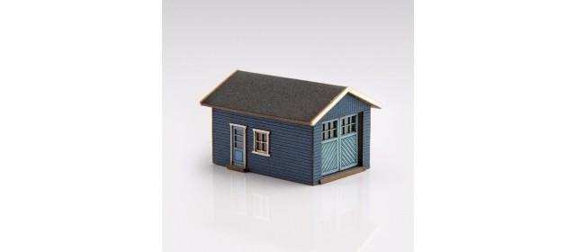 Archistories 426070-DB | Single Garage Kit | Dark Blue
