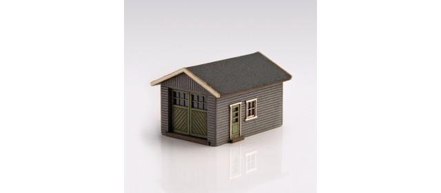 Archistories 426070-G   Single Garage Kit   Gray