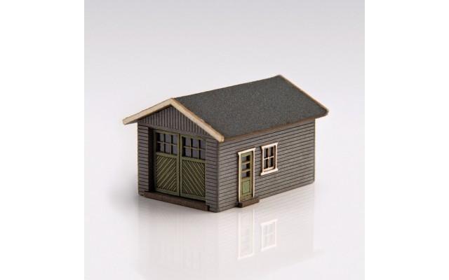 Archistories 426070-G | Single Garage Kit | Gray