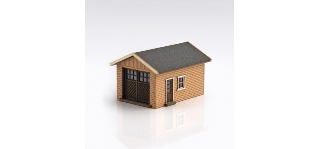 Archistories 426070-S | Single Garage Kit | Sand
