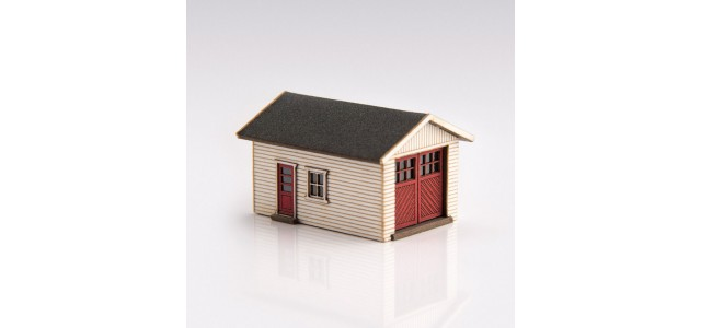 Archistories 426070-W | Single Garage Kit | White