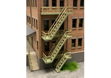 Ztrack Archistories ARC100 Three Story Fire Escape Kit