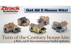 Archistories House-5 Turn of The Century Houses | Get All 5 Kits In This Release