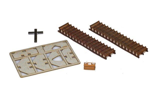 Z-Doktor ZD-220-50001-2 Painted Kit | Church Interior For Archistories