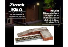 Raildig REA-ACC-1 REA Brick Ramp And Platform | LED Platform Light