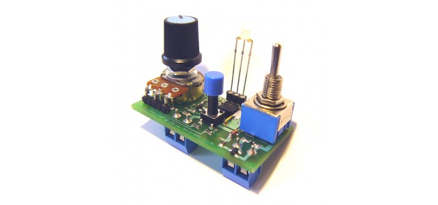 Medvend AN-1/SAC Panel Mount Blue Line Snail Speed Controller