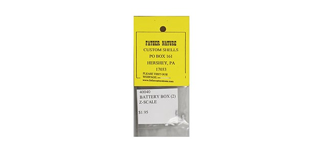 Father Nature FN-40040 Battery Box | 2-Pack