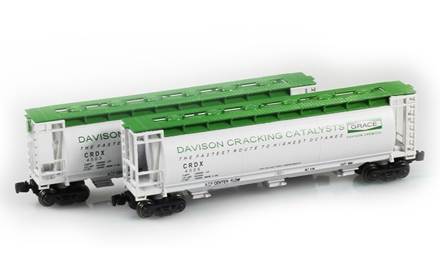 Full Throttle FT-1041 CRDX Covered Cylindrical Hoppers   2-Car Set