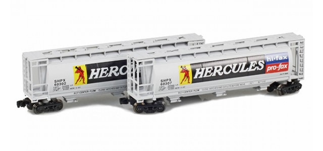 Full Throttle FT-1051 SHPX - Hercules 51' Covered Cylindrical Hoppers | 2-Car Set