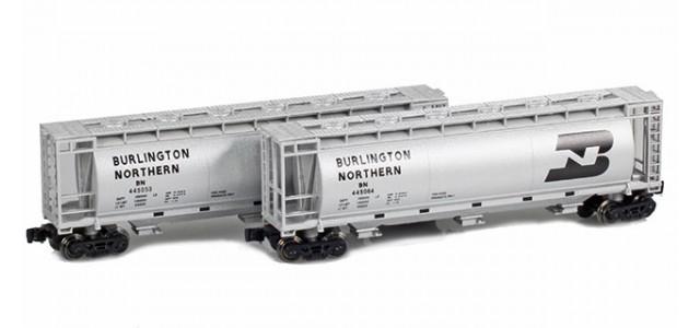 Full Throttle FT-1057 BN 51' Covered Cylindrical Hoppers | 2-Car Set
