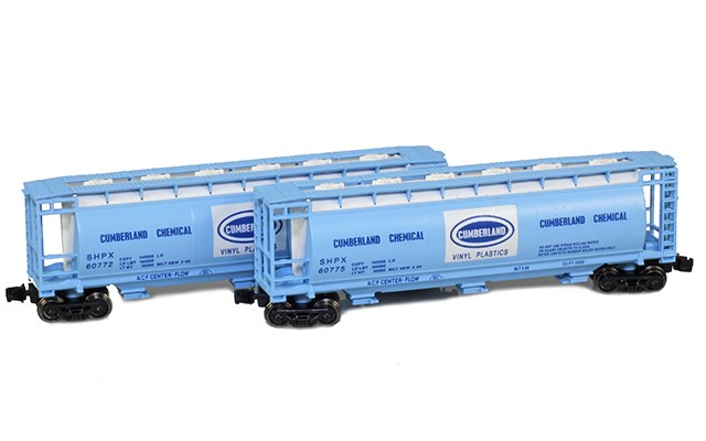 Full Throttle FT-1060 SHPX - Cumberland 51' Covered Cylindrical Hoppers   2-Car Set