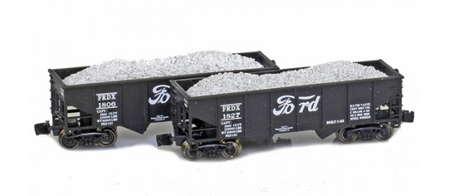 Full Throttle FT-2048-2 FRDX Rib-Side 2-Bay Hoppers | 2-Car Set