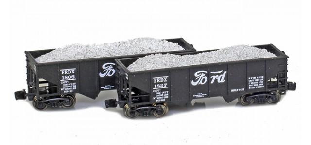 Full Throttle FT-2048-2 FRDX Rib-Side 2-Bay Hoppers | 2-Car Set