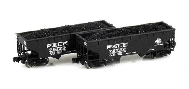 Full Throttle FT-3033-1 P&LE Offset-Side 2-Bay Hoppers | 2-Car Set