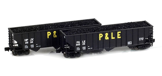 Full Throttle FT-8006-1 P&LE, HPJX 100-Ton Hoppers | 2-Car Set