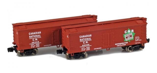 Full Throttle FT-9006-1 CN 34' Woodside Updated Reefer Set | 2-Car Set