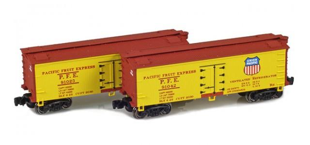 Full Throttle FT-9010-2 PFE 34' Woodside Updated Reefer | 2-Car Set
