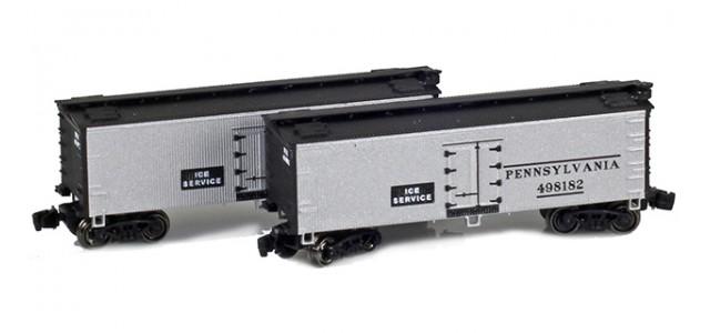 Full Throttle FT-9013 Pennsylvania 34' Woodside Updated Reefer Set | 2-Car Set