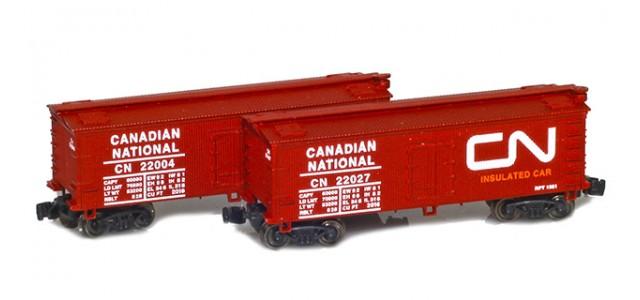 Full Throttle FT-9018 CN 34' Woodside Updated Reefer | 2-Car Set