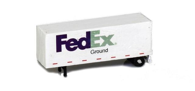 MCZ MCZ-S02 FedEx Ground 28' Trailer Dry Goods