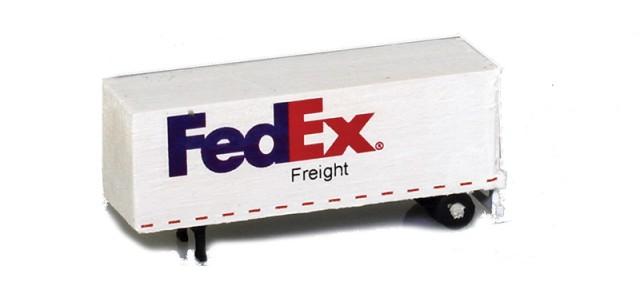 MCZ MCZ-S03 FedEx Freight 28' Trailer Dry Goods