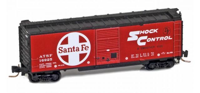 Micro-Trains 50000046 ATSF 40' Single Door Boxcar #16925