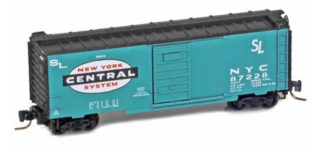 Micro-Trains 50000057 NYC 40' Single Door Boxcar #87230