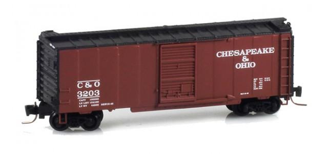 Micro-Trains 50000761 C&O 40' Single Door Boxcar #3203