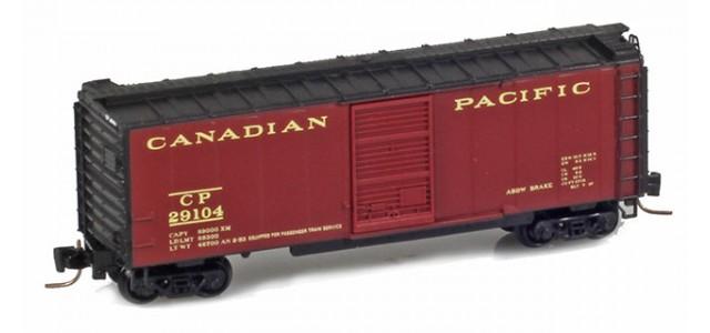 Micro-Trains 50000882 CP 40' Single Door Boxcar #29110