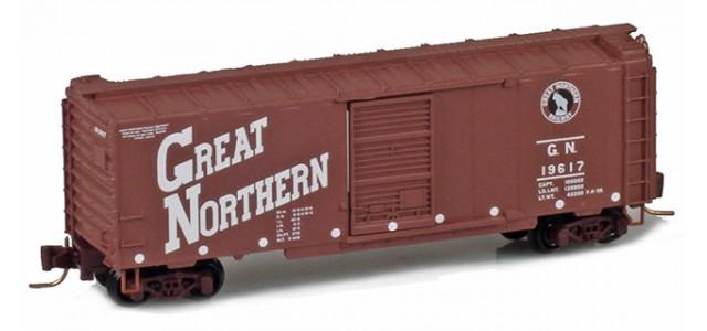 Micro-Trains 50000940 GN 40' Single Door Boxcar #19617