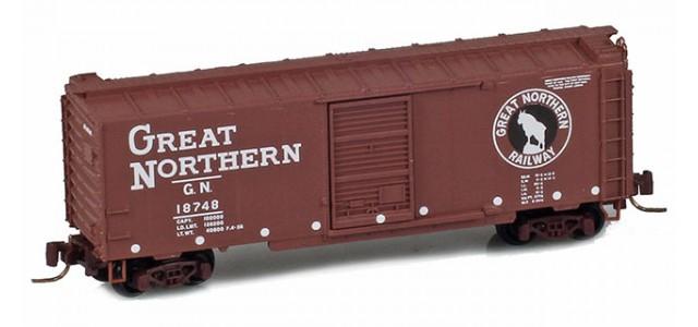 Micro-Trains 50000960 GN 40' Single Door Boxcar #467286
