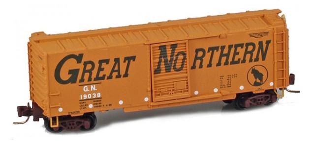 Micro-Trains 50000970 GN 40' Single Door Boxcar #18748