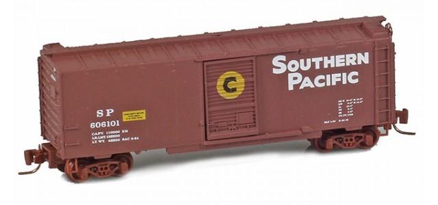 Micro-Trains 50000991 SP 40' Standard Boxcar Single Door #606101