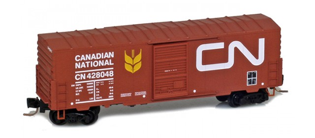 Micro-Trains 50300212 CN 40' Single Door Boxcar No Roofwalk #428129