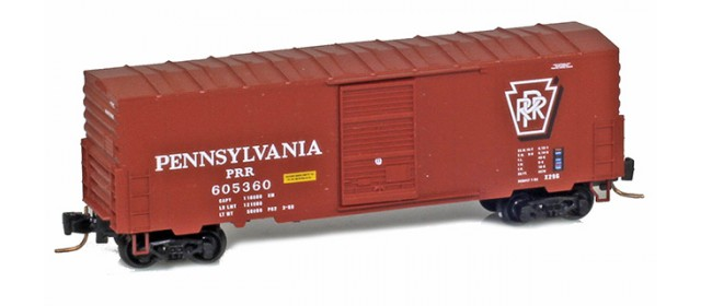 Micro-Trains 50300232 PRR 40' Single Door Boxcar No Roofwalk #605369