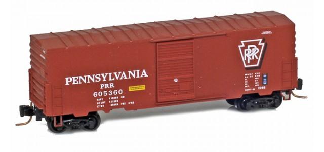 Micro-Trains 50300232 PRR 40' Single Door Boxcar No Roofwalk #605369