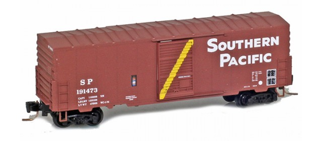 Micro-Trains 50300242 SP 40' Single Door Boxcar No Roofwalk #191825