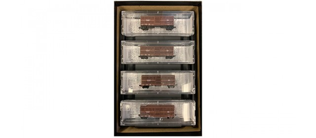 Micro-Trains 99400110 New York Central 40' Despatch Stock Car | 4-Car Set