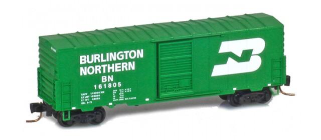Micro-Trains 50300202 BN 40' Standard Boxcar Single Door #161816