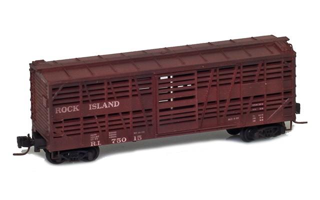 Micro-Trains 52044250 Rock Island 40' Despatch Car #75015