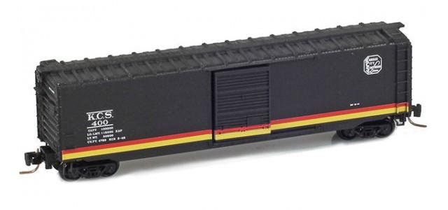 Micro-Trains 50500371 KCS 50' Single Door Standard Boxcar #400