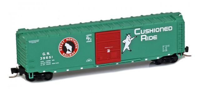 Micro-Trains 50500401 GN 50' Single Door Standard Boxcar #39651