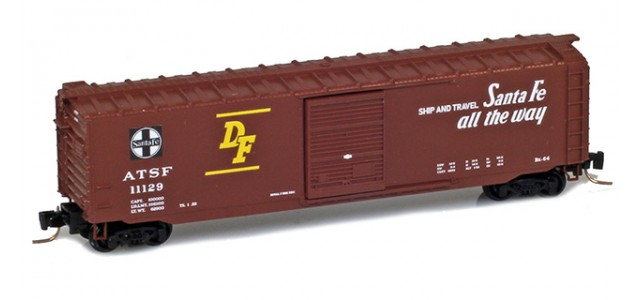 Micro-Trains 50500412 ATSF 50' Single Door Standard Boxcar #11129