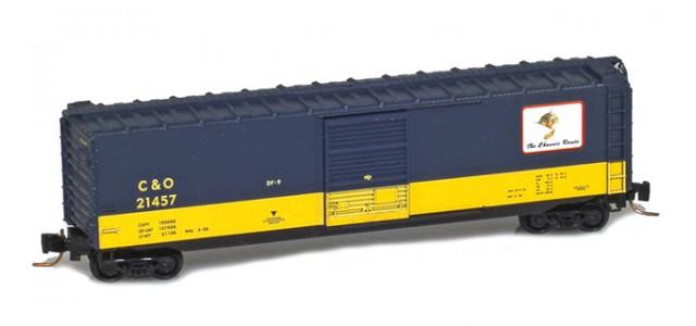 Micro-Trains 50500425 C&O 50' Standard Boxcar Single Door #21457