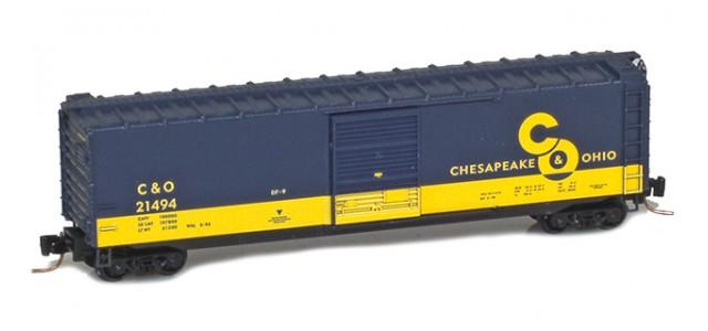 Micro-Trains 50500426 C&O 50' Standard Boxcar Single Door #21457 | Cameo #5