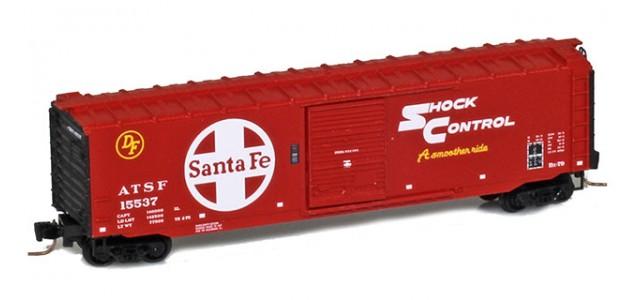 Micro-Trains 50500431 ATSF 50' Standard Boxcar Single Door #15537