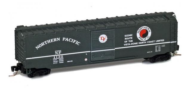 Micro-Trains 50500451 NP 50' Standard Boxcar Single Door #1130