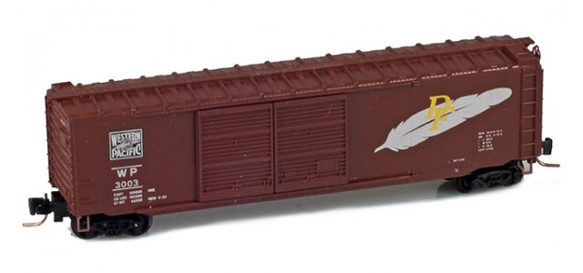 Micro-Trains 50600231 WP 50' Boxcar Double Doors #3003